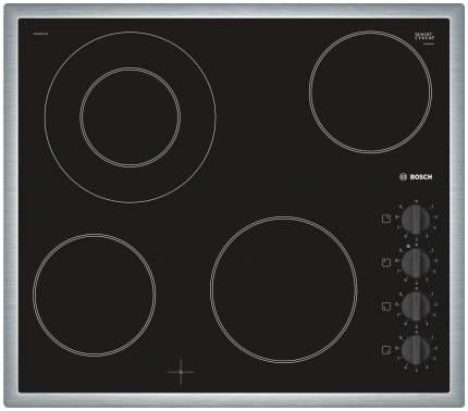 Встраиваемая варочная панель электрическая Bosch PKF645CA1E Black