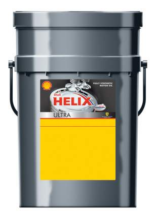 Моторное масло Shell Helix Ultra 0W-40 20л