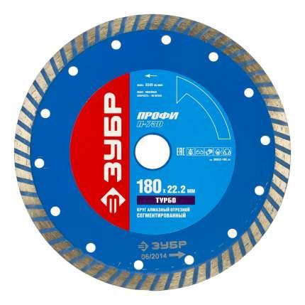 Отрезной диск по камню для угловых шлифмашин Зубр 36652-180_z01