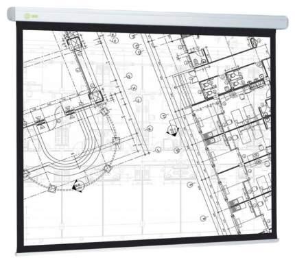 Экран для видеопроектора Cactus Wallscreen CS-PSW-124x221 Белый