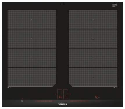 Встраиваемая варочная панель индукционная Siemens EX675LXC1E Black