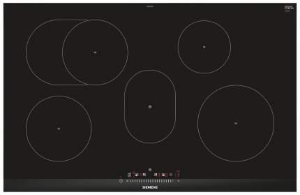 Встраиваемая варочная панель индукционная Siemens EH875FFB1E Black