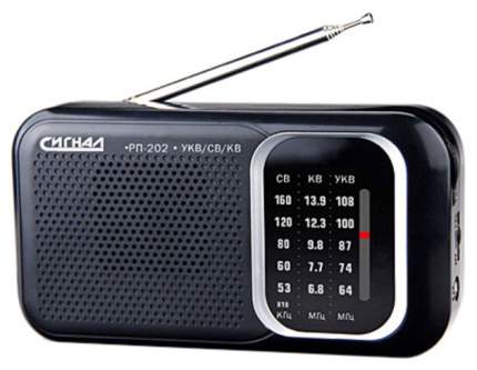 Радиоприемник Сигнал РП-202 Black