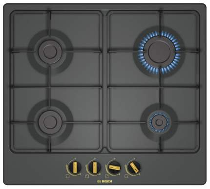 Встраиваемая варочная панель газовая Bosch PBP 6B 3B 60 Black