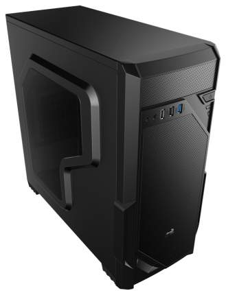 Компьютерный корпус AeroCool VS-1 Window без БП black