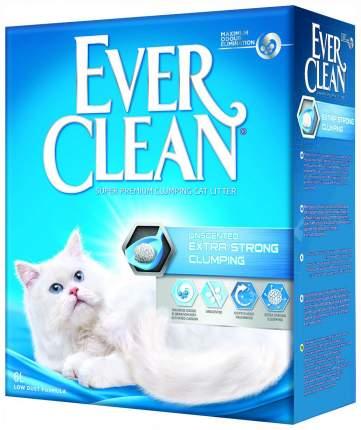 Комкующийся наполнитель для кошек Ever Clean Extra Strong Clumping Unscente глиняный, 6 кг
