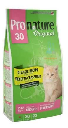 Сухой корм для котят Pronature Original Kitten, цыпленок, 2,72кг
