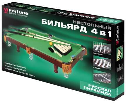 Спортивная настольная игра Fortuna Русская пирамида 3ФТ 4 в 1 07737