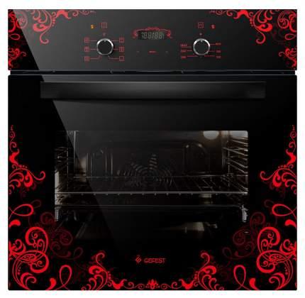 Встраиваемый электрический духовой шкаф GEFEST ДА 622-02 К16 Black/Red