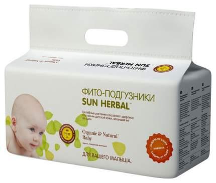 Подгузники для новорожденных Sun Herbal NB (2-5 кг), 24 шт.
