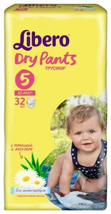 Подгузники Libero Dry Pants 5 (10-14 кг), 32 шт.