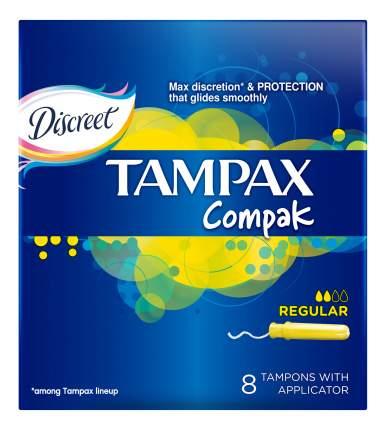 Тампоны Tampax Regular Single 8шт