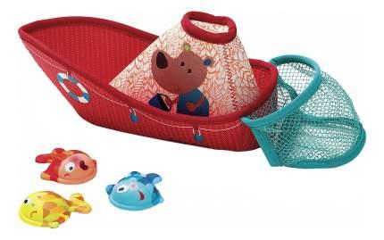 Игрушка для ванной Lilliputiens Рыбацкая лодка