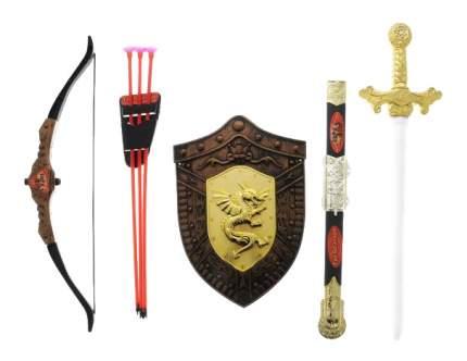 Набор оружия Играем Вместе Три богатыря Лук, Щит, Меч