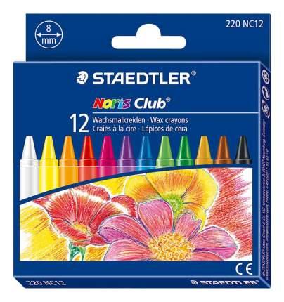 Восковые мелки Staedtler Noris Club 12 цветов