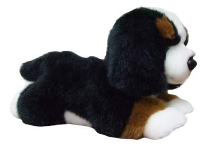 Мягкая игрушка SOYA Щенок породы Бернская овчарка, 20x9x11 см