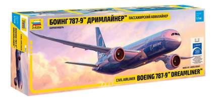 Модель для сборки Zvezda 1:144 Самолет - Боинг 787-9