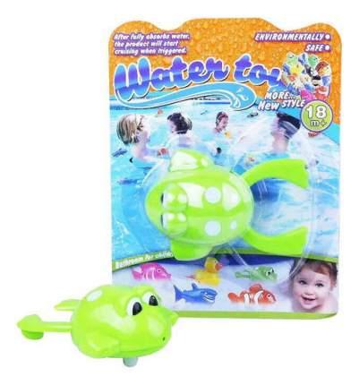 Заводная игрушка для купания Junfa Toys Лягушка заводная