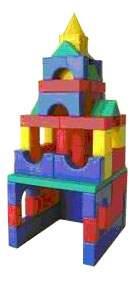 Конструктор пластиковый Форма Набор строительный №1 большой