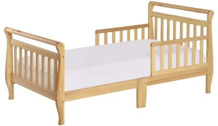 Кровать Dream On Me Classic Sleigh Toddler Bed Natural