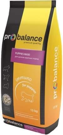Корм для щенков PROBALANCE Immuno 15 кг