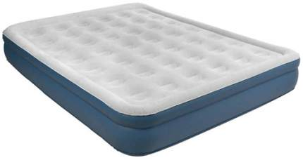 Надувная кровать с электронасосом RELAX High Raised Air Bed Queen Grey (JL027278NG)