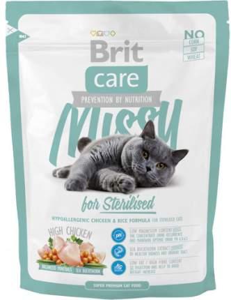 Сухой корм для кошек Brit Care Missy for sterilised, для стерилизованных, курица, 0,4кг