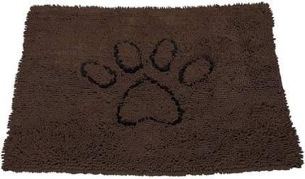 Коврик супервпитывающий для собак DOG GONE SMART Doormat размер L коричневый