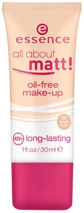 Тональный крем essence All About Matt! Oil-Free Make-Up 20 Matt Nude