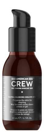 Масло для бритья American Crew Ultra Gliding Shave Oil Shaving Skincare 50 мл