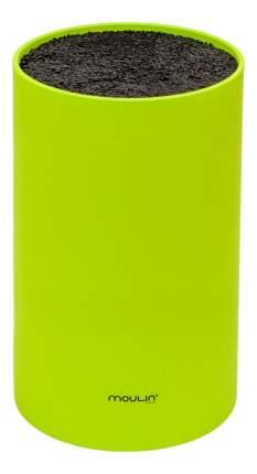 Подставка для ножей MOULINVilla STN-1G, зеленая