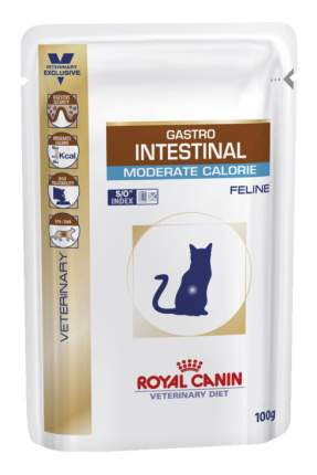 Влажный корм для кошек ROYAL CANIN Vet Diet Gastro Intestinal, мясо, 100г