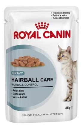 Влажный корм для кошек ROYAL CANIN Hairball Care, мясо, 85г