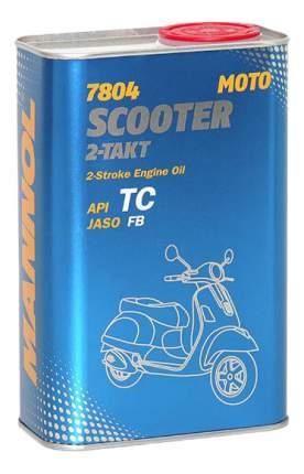 Моторное масло Mannol 2-Takt Scooter 1л
