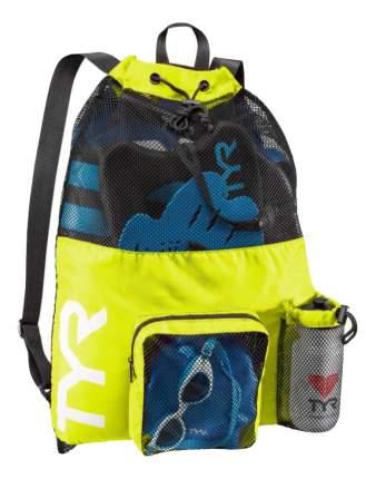 Рюкзак TYR Big Mesh Mummy, 40 л, 730 fluo yellow