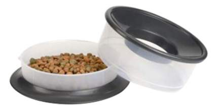 Набор мисок для собак Beeztees, пластик, прозрачный, 2 шт по 0.8 л