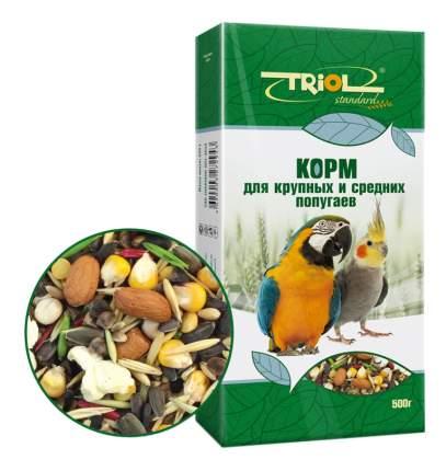 Основной корм Triol для попугаев 500 г, 1 шт