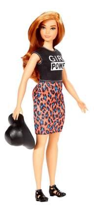 Кукла Barbie Fashionistas в юбке Леопард