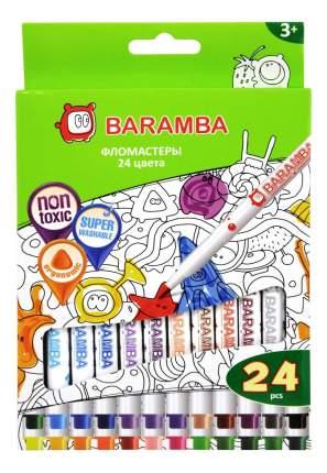 Фломастеры Baramba 24 цвета