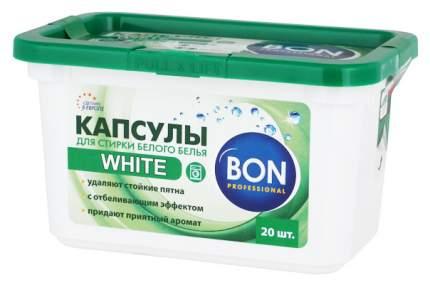 Таблетки для стирки Bon для белого белья 20 штук