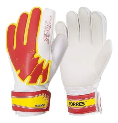 Вратарские перчатки Torres Junior, белый/красный, 7