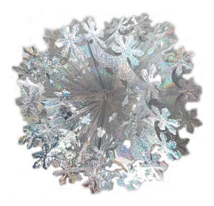 Елочная игрушка Новогодняя сказка Снежинка 30 см 972155