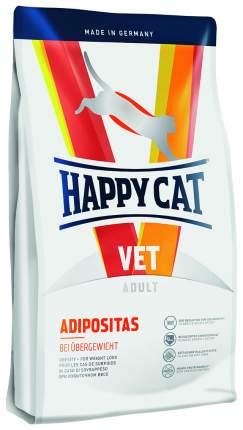 Сухой корм для кошек Happy Cat Vet Adipositas, при ожирении, домашняя птица, рыба, 1,4кг