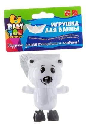 Заводная игрушка для ванны Белый мишка Bondibon ВВ2470