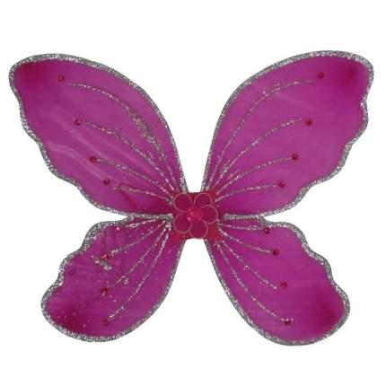 Карнавальные крылья бабочки с цветком Snowmen Е92242