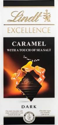 Шоколад темный Lindt excellence карамель с солью 100 г