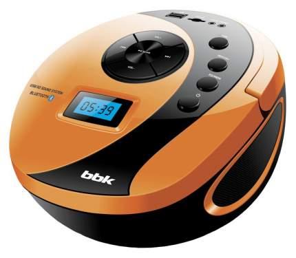 Магнитола BBK BS 10 BT Оранжевый, черный