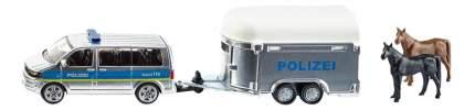 Полицейская машина Siku с прицепом для лошадей 1:55 2310