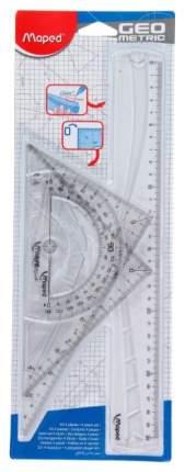 Набор чертежных инструментов Maped Geometric 4 предмета 242767