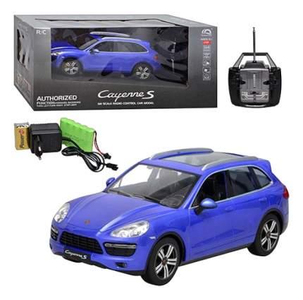 Машина р/у Porsche Cayenne S на аккум. синяя 1:14 Gratwest М60811